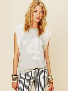 Free People Sleeveless Graphic Pullover, $69.95