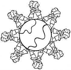 lets hug the globe together earth daykid activitiesglobecoloring pages planetsletter