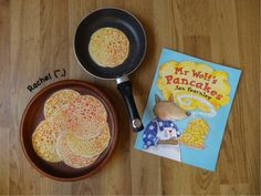 Activities linked to the book, Mr Wolf's Pancakes - suitable for use in the Early Years classroom. from Stimulating Learning with Rachel Shrove Tuesday Activities, Preschool Cooking Activities, Eyfs Activities, Spring Activities, Preschool Ideas, Teaching Ideas, Year 1 Classroom, Early Years Classroom, World Book Day Activities