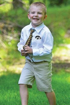 He looks so preppy in this Tristan Roll Up oxford!... Product and graphic created by College Kids, llp