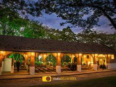 Casamento no campo, realizado em Piracicaba, no belo espaço Haras, vista lateral.