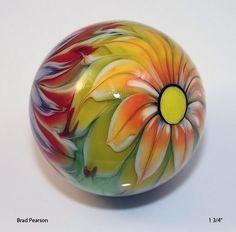 Flower Power Marble ( 26) Brad Pearson. via Etsy.