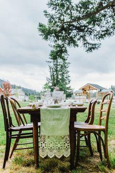 Farm Wedding Table
