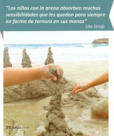 La experimentación de los niños con la arena es generadora de experiencias y sensaciones únicas!
