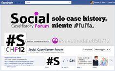 New fan page Social CaseHistory Forum #savethedate050712 @SocialCHForum #schf12