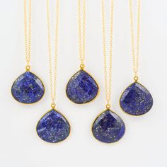 Lapis Lazuli Necklace, Lapis Lazuli Pendant Necklace, Gold Lapis Necklace, Blue Gemstone, Boho Necklace, Layering Necklace Gemstone Necklace by Gemstonique on Etsy https://www.etsy.com/listing/259465294/lapis-lazuli-necklace-lapis-lazuli