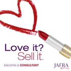 Do you love the JAFRA products you use?  Why not become an Independent JAFRA Consultant! http://jafra.me/3cdn