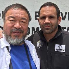 Ai Weiwei is such a beautiful Human being @aiww  #AiWeiwei…