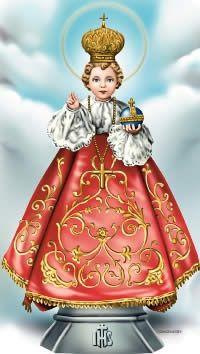 Image Jesus, Jesus Christ Images, Religious Images, Religious Art, Catholic Prayers Daily, Sto Nino, Fantasy Queen, Infant Of Prague, Jesus Wallpaper