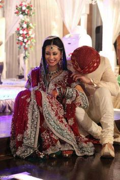 Dulhan Bride Indian South Asian Pakistani Desi Wedding Dulha Groom