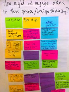 Our Individual Challenges ~ Design Thinking for Educators Workshop #DT4E