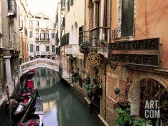 Venice, Veneto, Italy Photographic Print by Sergio Pitamitz at Art.com