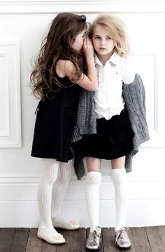 stylish kids images, image search, & inspiration to browse every day. Fashion Kids, Little Girl Fashion, Trendy Fashion, Fashion Shops, White Fashion, Fashion Dolls, Womens Fashion, Baby Kind, Stylish Kids