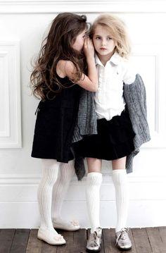 little girls, prep style, fashion styles, little girl style, school uniforms, kids fashion, future kids, kid styles, friend