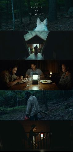 It comes at night- beautiful cinematography, colour palette and stills from the film