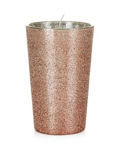 Everyone's loving copper right now - it's shimmering tone adds instant warmth to a room. Build your collection of pieces with our Pink Metallic Textured Candle. £6.99 #newlook #homeware