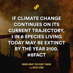 We must be responsible for our mother earth! #8fact by 8factapp