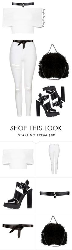 """Minimal"" by simplesassysultry on Polyvore featuring Rosetta Getty, Topshop, River Island, Fallon, Étoile Isabel Marant and STELLA McCARTNEY"