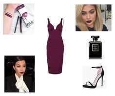 """""""Kourt K"""" by ynes-7 ❤ liked on Polyvore featuring Nicole Miller and Boohoo"""