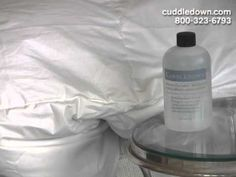 How to Care for Your Down Bedding - YouTube