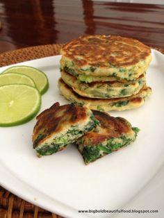 Big, Bold, Beautiful Food: Ottolenghi's Green Pancakes