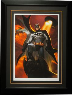 Batman - Justice League Trinity Premium Art Print