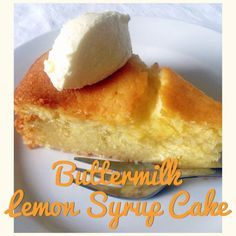 Buttermilk Lemon Syrup Cake (Thermomix Method Included) « Mother Hubbard's Cupboard