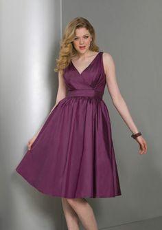 bridesmaid dresses plus size
