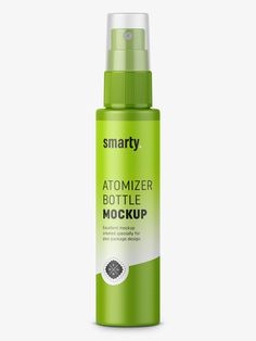 Mist spray bottle mockup / 50 ml