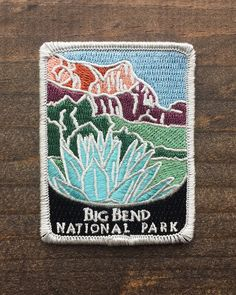 National Park Patches