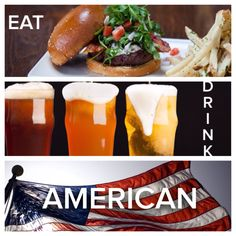 """Celebrate your long weekend at Eureka Claremont! with """"Hoppy"""" Hour and All-American eats. #HappyLaborDay"""