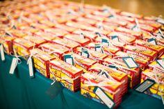 Wedding favors - animals crackers | Zoo Wedding | St. Louis Wedding