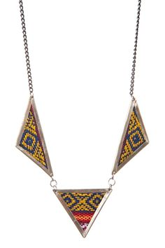 Aguayo Sunset Necklace www.hearts.com