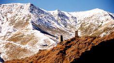 Caucasus mountains in Tusheti