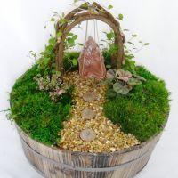 Large Enchanted Barrel Kit – Arbor Swing | Enviro-Cakes ~ A Slice of Life