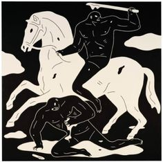 Cleon Peterson  portrays the brutal struggles between an army of...