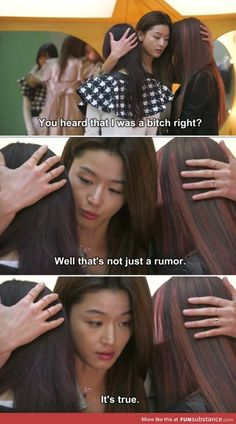 """Find and save images from the """"We Love K-Drama, Kpop and Korea."""" collection by Tiffany_티파니 ❀ (AkaNokoHyo) on We Heart It, your everyday app to get lost in what you love. Korean Drama Funny, Korean Drama Quotes, Kdrama Memes, Funny Kpop Memes, Jong Hyuk, Moorim School, My Love From Another Star, Drama Fever, Entertainment"""