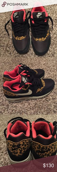 Nike air max 1 leopard NWT Brand New! No box. 100% authentic Shoes Sneakers