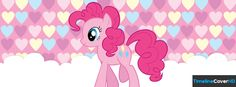 Pinkie Pie My Little Pony Timeline Cover 850x315 Facebook Covers - Timeline Cover HD