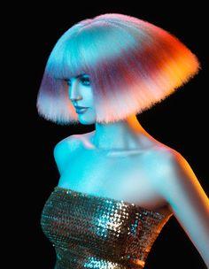 colors: Olivia by Sherri Jessee Hair And Makeup Artist, Hair Makeup, Crimped Hair, Coloured Hair, Big Hair, Hair Art, Hair Designs, Hair Trends, Hair Inspiration