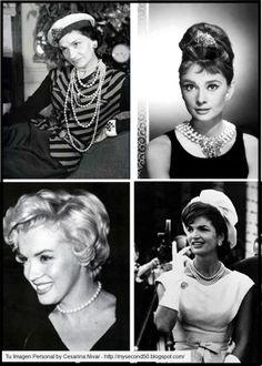 Pearls Fashion Icons