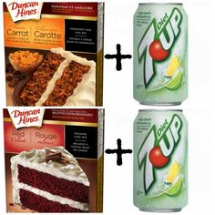 12 gâteaux à 2 ingrédients! - Cinq Fourchettes Duncan, Calories, Coconut Water, Carrots, Caramel, Muffins, Deserts, Food And Drink, Vegan