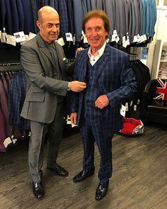 Kenney Jones visits Adam of London – welcome