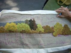 The Middle Sister: Lovely Day of Rug Hooking