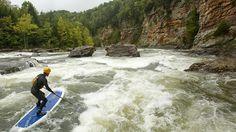 The Gauley River in Fayetteville, West Virginia. #JetsetterCurator