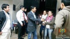 """En el Coliseo Andrés Ibáñez de la ciudad de Montero, el ministro de Economía y Finanzas Públicas, Luis Arce Catacora, expondrá el """"Modelo Económico Social Comunitario y Productivo de Bolivia"""" a estudiantes de la carrera de Ingeniería Comercial de la Facultad Integral del Norte (FINOR), en el 2do Encuentro Anual de Ingeniería Comercial"""