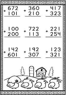 Math Addition Worksheets, 3rd Grade Math Worksheets, English Worksheets For Kids, 1st Grade Math, Preschool Worksheets, Math Activities, Math Lesson Plans, Math Lessons, Math Sheets