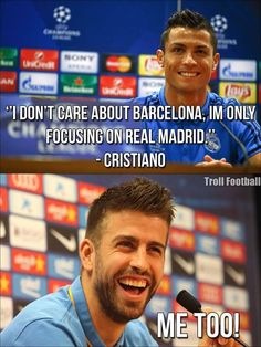 Pique be like....