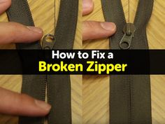 Share on FacebookShare on TwitterPinterest Whether on a coat, a bag, or a pair of pants, we have all had a zipper that slipped and stopped catching the teeth. You can move the zipper back and forth all you like, but in the end, the item in question never actually zips, though sometimes it might...