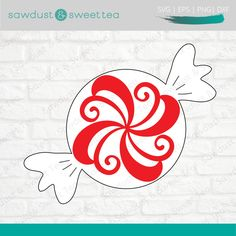 Christmas Svg, Christmas Candy, Teacher Ornaments, Arabesque Tile, Candy Christmas Decorations, Peppermint Candy, The Design Files, Silhouette Designer Edition, Journal Cards
